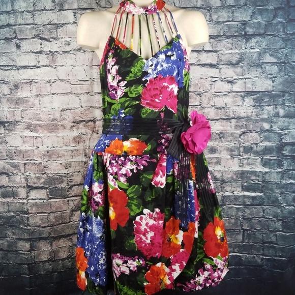 Lillie Rubin Dresses & Skirts - Lillie Rubin Vintage Floral Party Dress